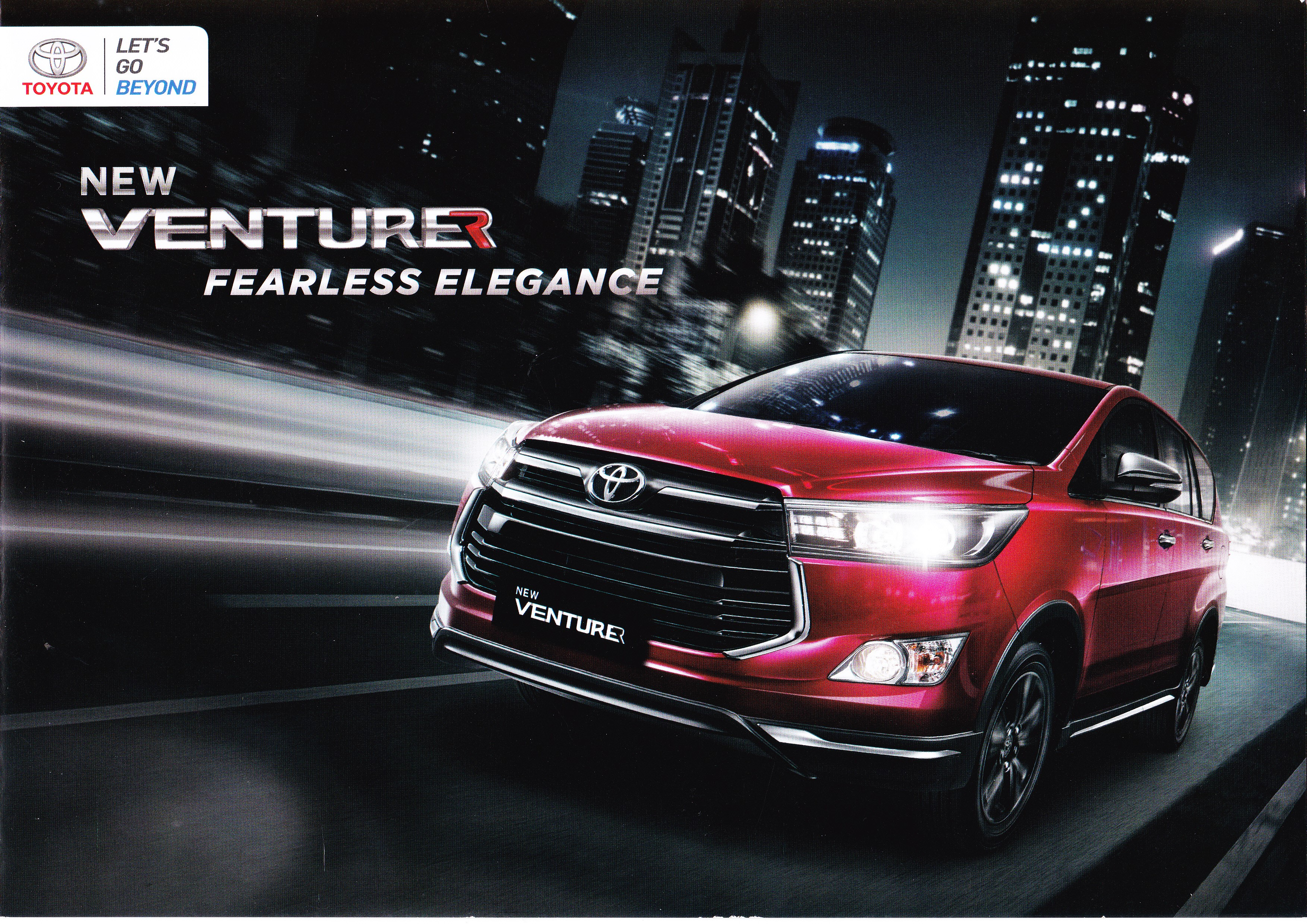 Brosur Mobil Toyota Innova Venturer Jakarta