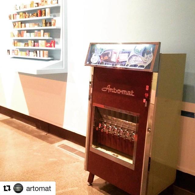 Art-o-mat machine design for Wonderroot (Atl) by Woodie Anderson.