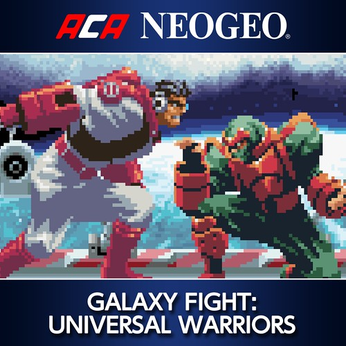 ACA NeoGeo Galaxy Fight Universal Warriors