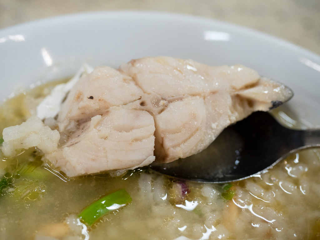 Prompet Fish from the seafood porridge at Taiping Seafood Porridge Restaurant at Puchong