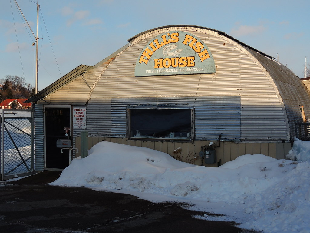 Thill 39 s fish house marquette michigan mikel classen for Thill s fish house