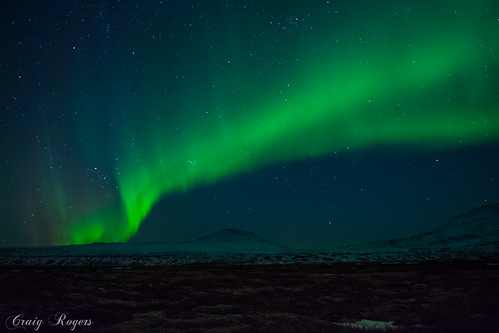 Aurora Borealis (Northen Lights) in Iceland | by www.craigrogers.photography