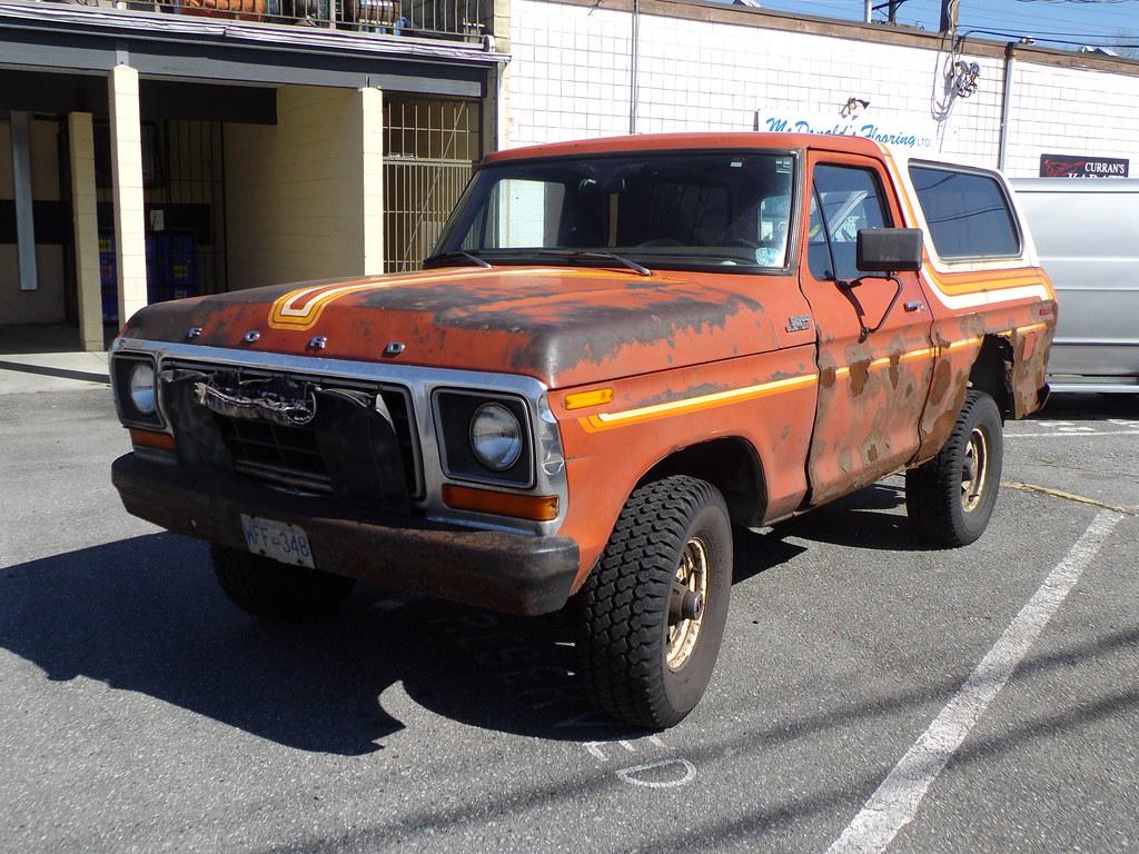 78 79 ford bronco custom by foden alpha