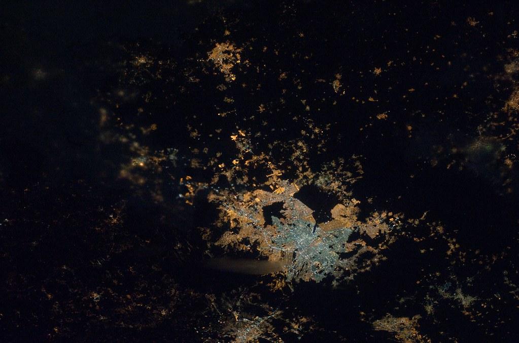 nasa night earth mexico - photo #5