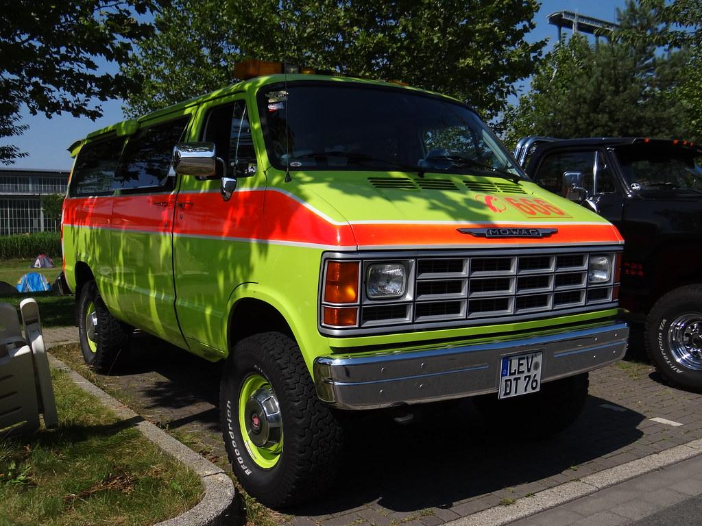 Mowag B350 (Dodge B350 Ram Van 4x4) | 2 August 2014 ...