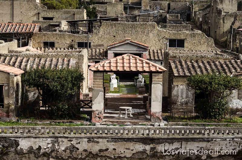 visita a Herculano antigua villa