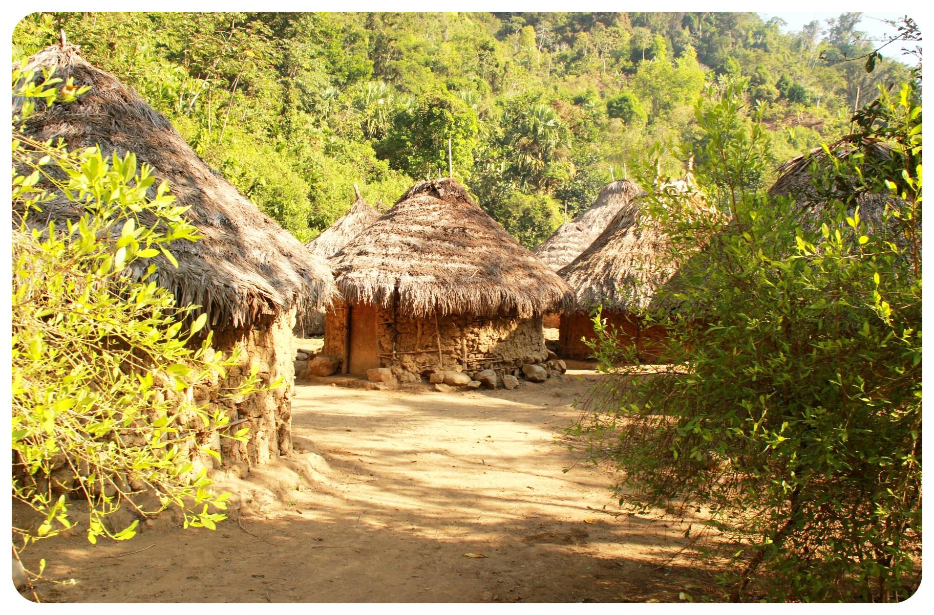 ciudad perdida trek indigenous village