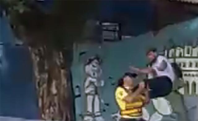 agressão