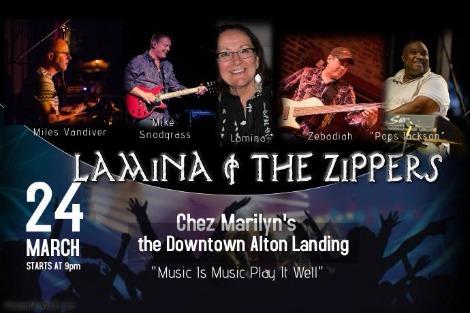 Lamina & The Zippers 3-24-17