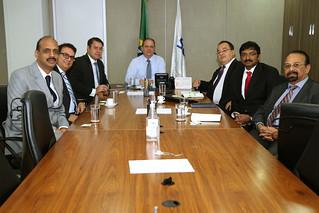 Audiência com Lincoln Colares Gomes - Diretor da NACTO Pharma do Brasil Ltda. Brasília, 28/03/2017. Foto: Erasmo Salomão/MS