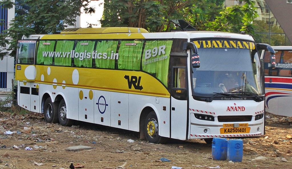 Vrl Logistics Volvo B9r Multi Axle Semi Sleeper Bus Flickr