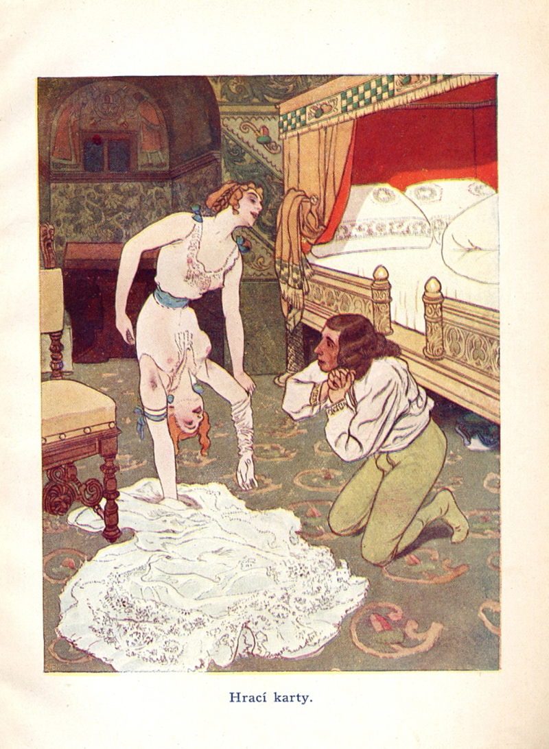 "Artus Scheiner - Illustration from ""Fairy Tales For Adults"" written by Jean Qui Rit"