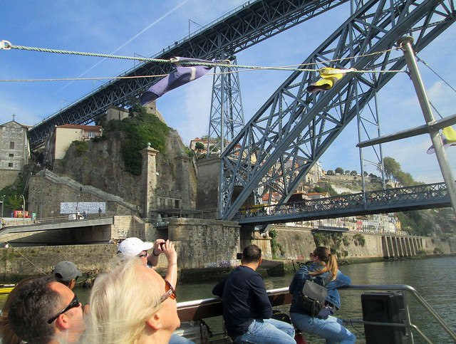 Dom Luís I Bridge, Porto, North Support Buttress