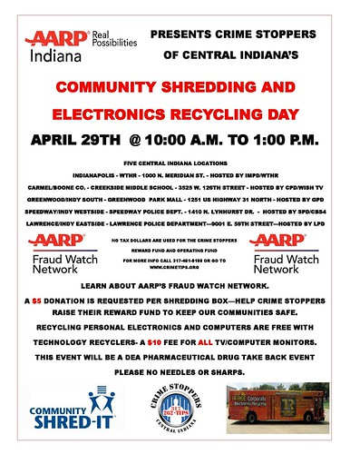 April 2017: CrimeStoppers Shred-it Day