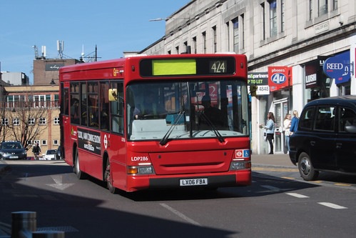 Go-Ahead London LDP286 LX06FBA