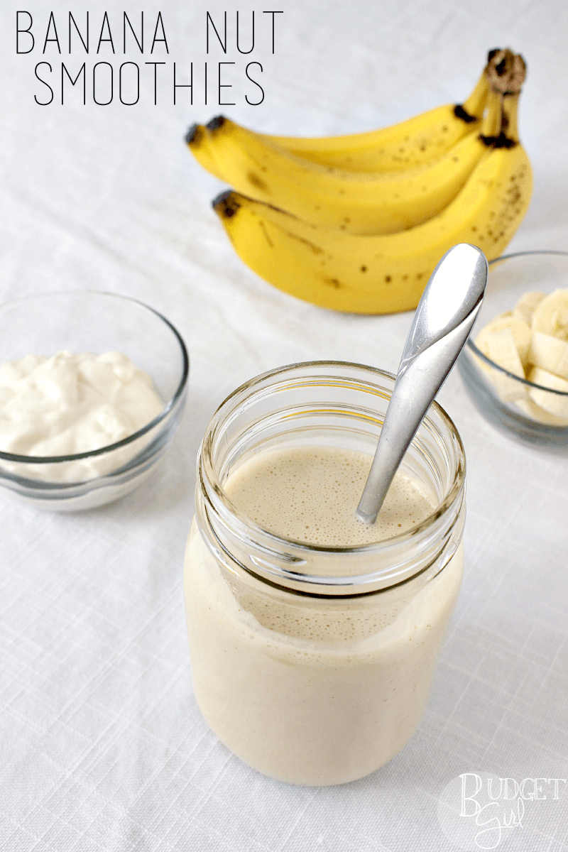 Banana Nut Smoothies