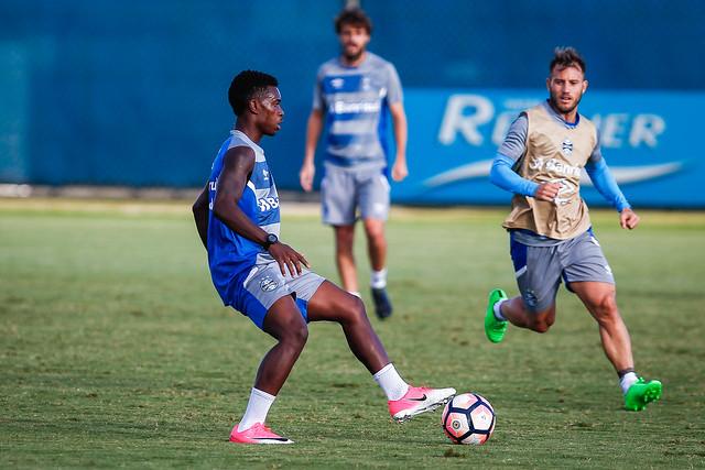 Treino Grêmio 17/04/17