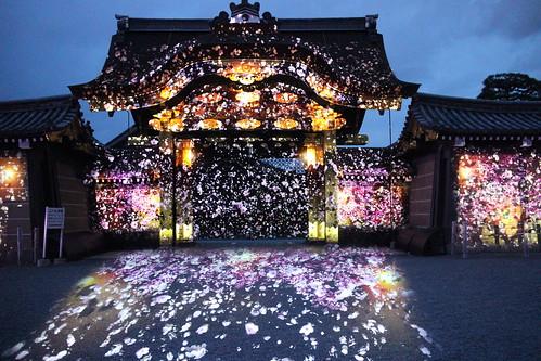 京都 元離宮二条城 プロジェクションマッピング