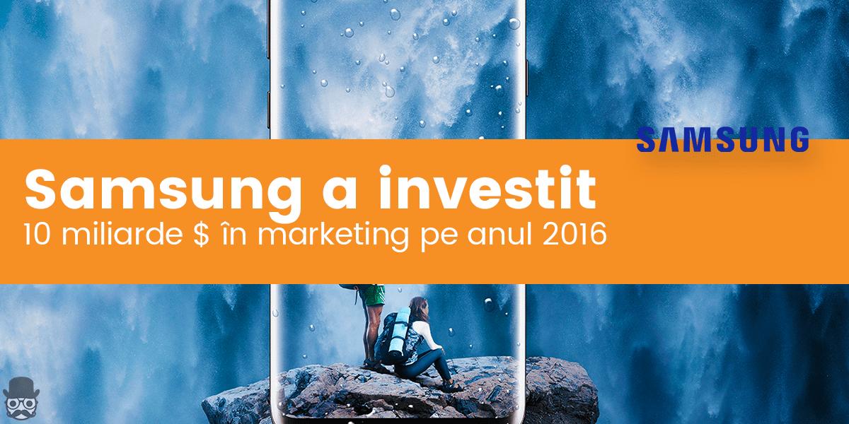 Buget de marketing Samsung: 10 mild. $ in anul 2016 138