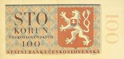 Czechoslovakia State Bank 100 Korun 24.10.1951 Pick 76
