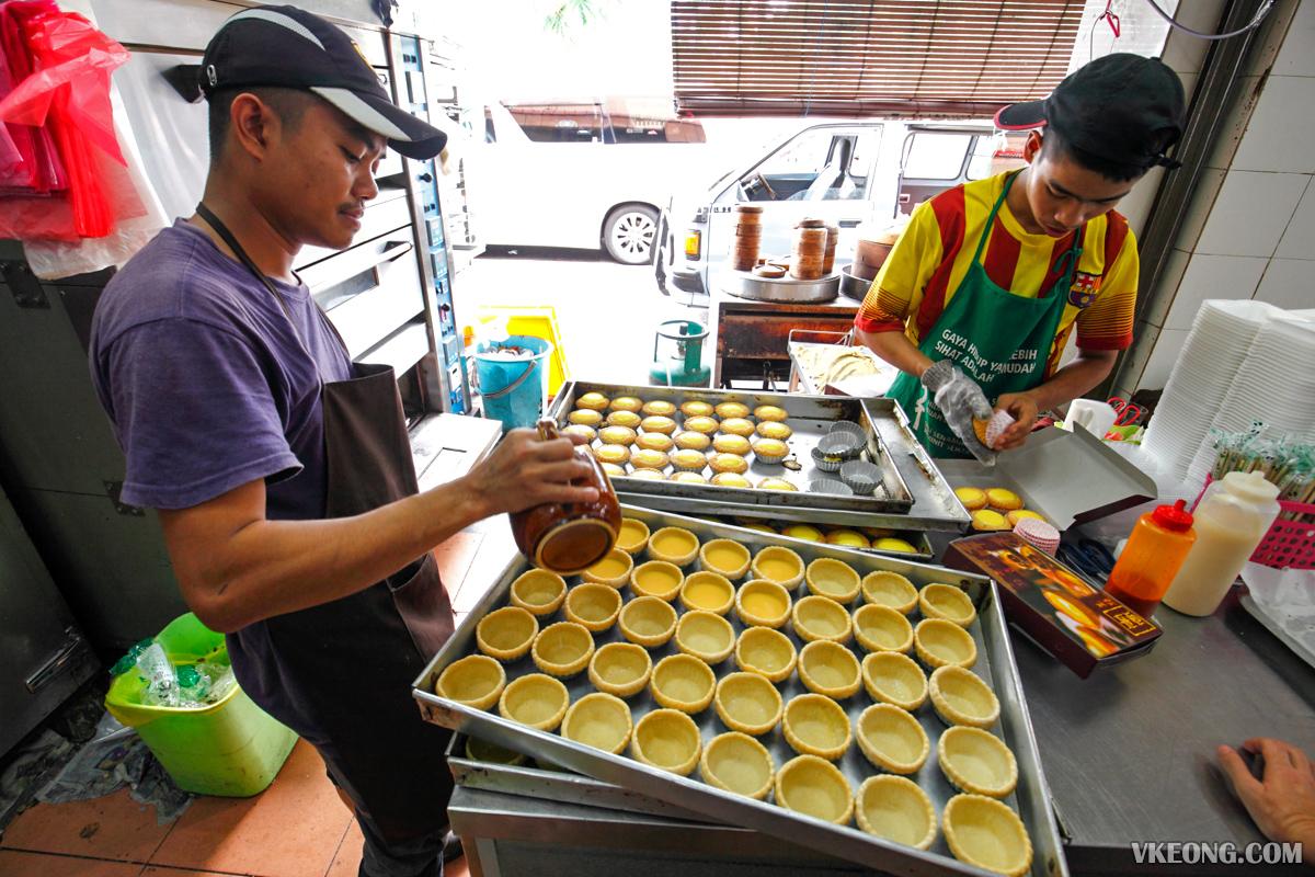 Nam Heong Egg Tarts Ipoh