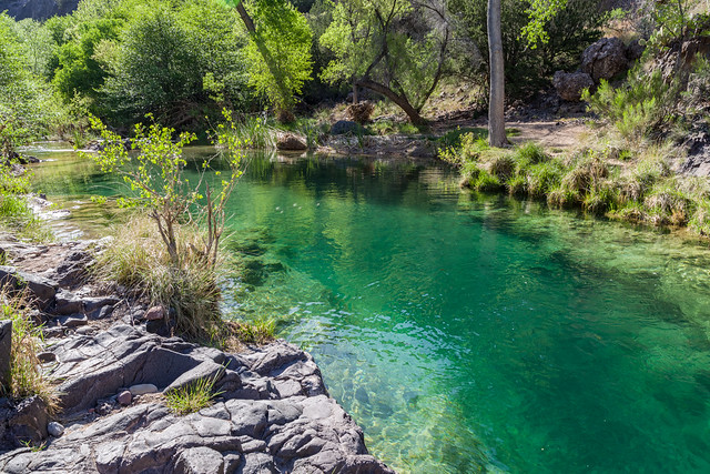 Fossil Creek: Tonto Bench