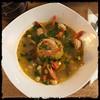 #Asopao #PuertoRican #Shrimp #Soup #homemade #CucinaDelloZio - with #mofongo