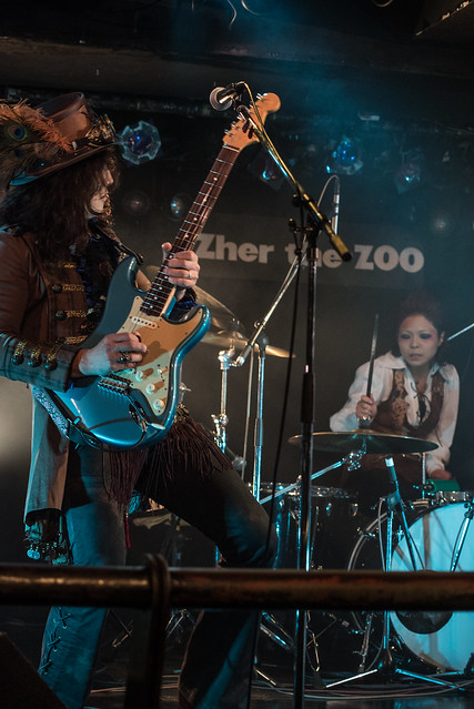 Coal Tar Moon live at Zher the Zoo, Tokyo, 20 Apr 2017 -00025