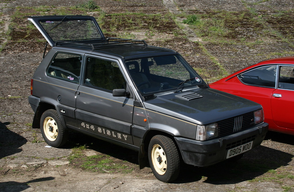 1987 fiat panda sisley 4x4 davocano flickr for Fiat panda 4x4 sisley usata