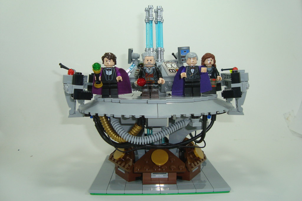 Tardis Console Interior Heres A Sneak Peek Of Stuff Im G Flickr