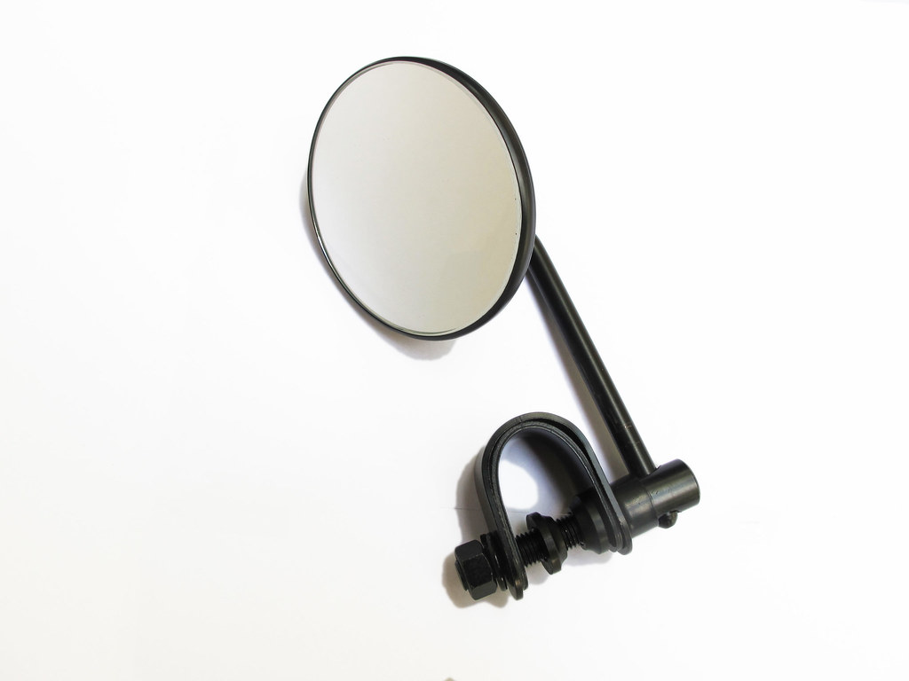 Black Short Stem Mirror