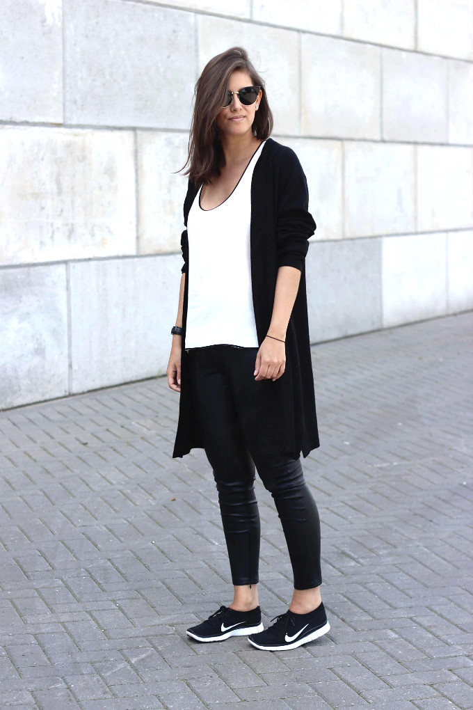 Outfit-long-black-cardigan-trend | Shout- out to you | Flickr