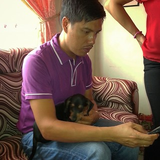 Bro. George with cute puppy | by Pinoy Honcho
