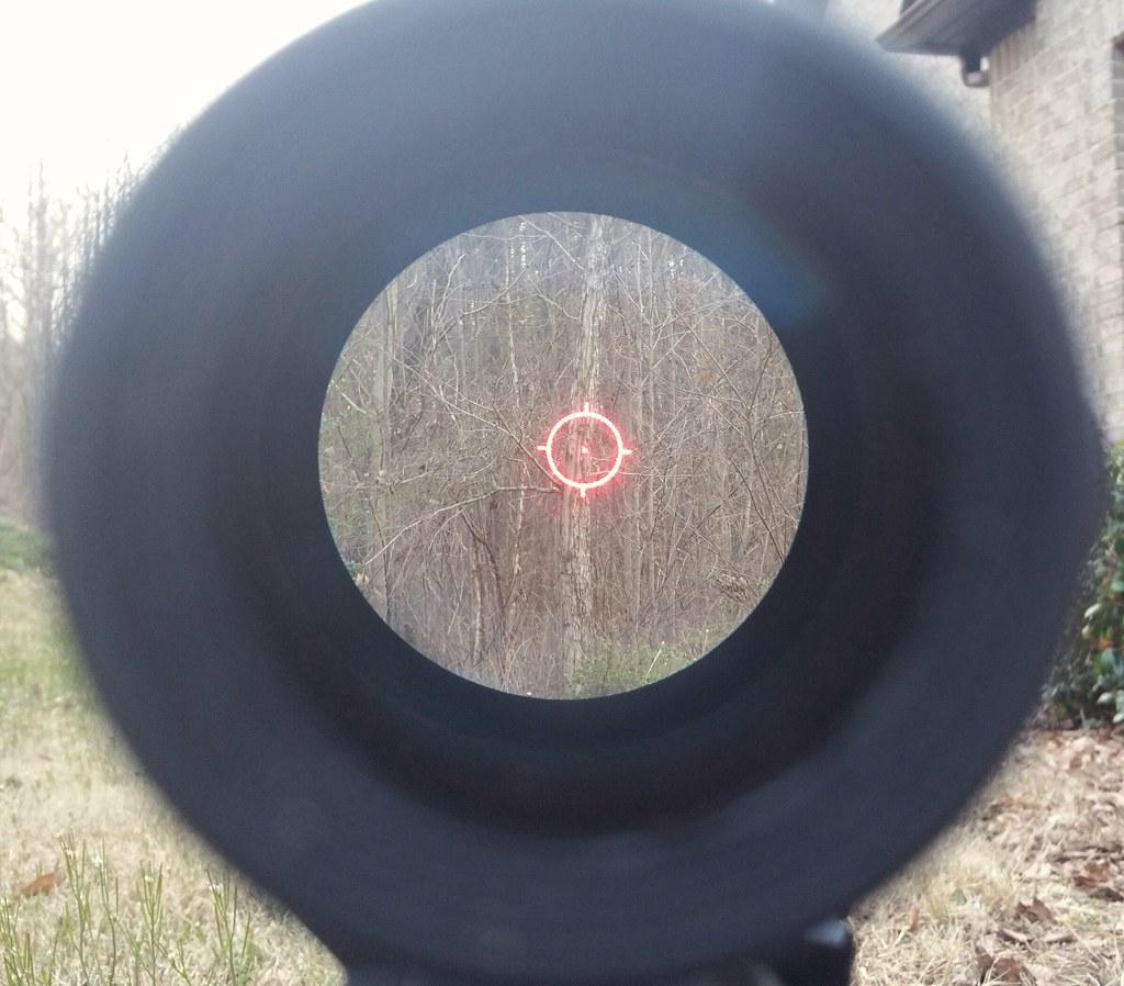 EOTECH WITH vector optics 3X MAGNIFIER