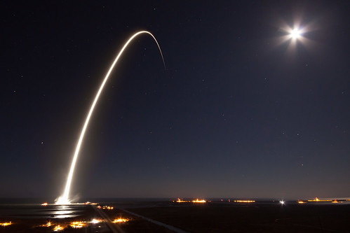 EchoStar XXIII Launch | by Official SpaceX Photos