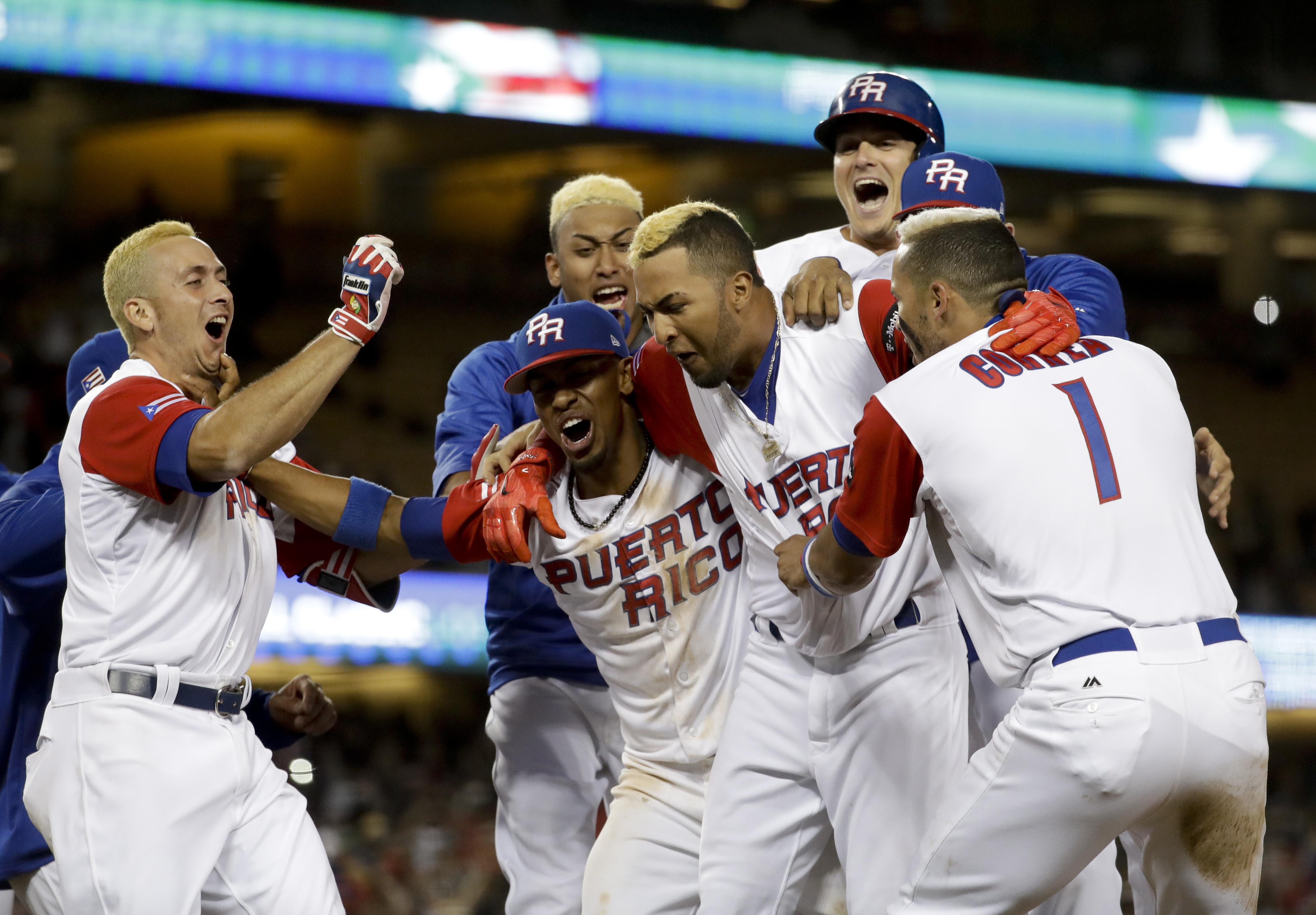 波多黎各慶祝進軍冠軍賽。(達志影像)
