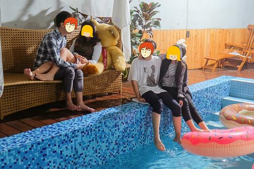 台南告別單身派對姊妹們最優的選擇,媜13泳池Villa爽爽玩! (16)