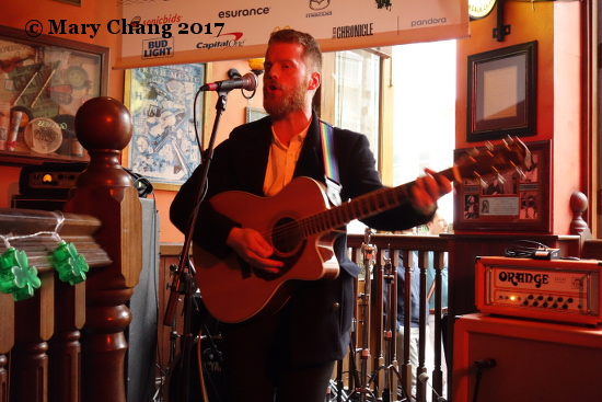 Ciaran Lavery, full Irish breakfast, B.D. Riley's, Thursday 16 March 2017