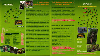 Brochure Thai Jungle Zipline and Trekking Chiang Mai Thailand 06