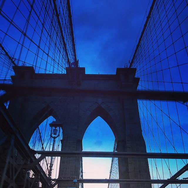 Building bridges trumps building walls  #bridgesbrooklynbridge #bridges
