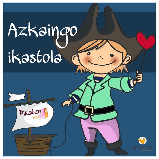 Egonaldi Pirata- Azkaingo ikastola 2017/06/22-23