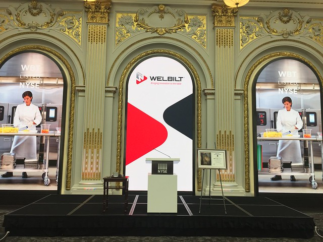 Welbilt Rings the Opening Bell at NYSE