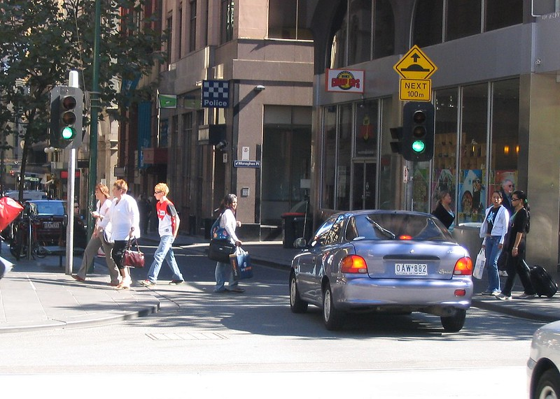 Flinders Lane, Melbourne, April 2007