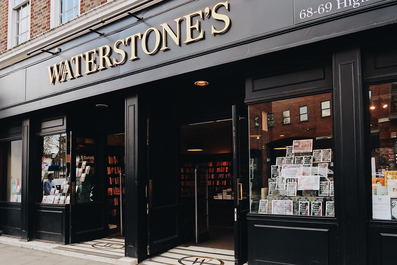 Going to the Waterstones Café in Hampstead