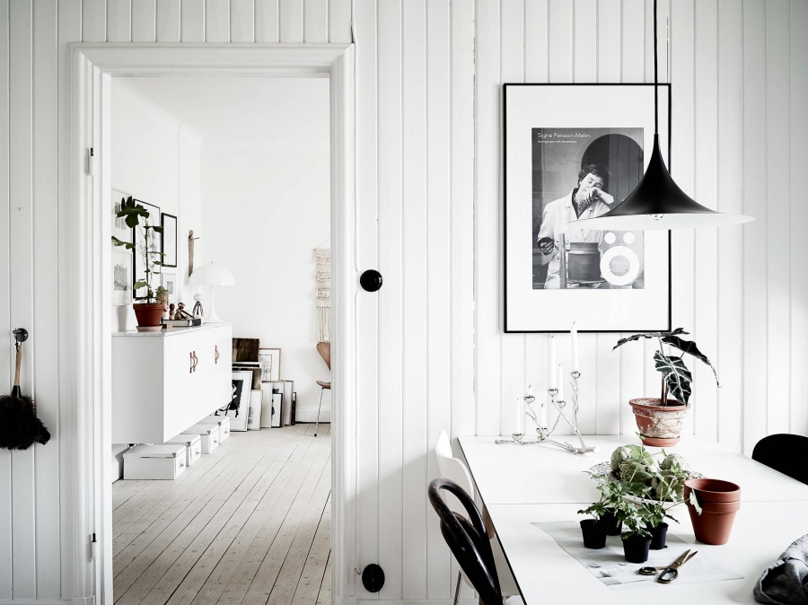 Scandinavian Apartment With Soft, Muted Colors