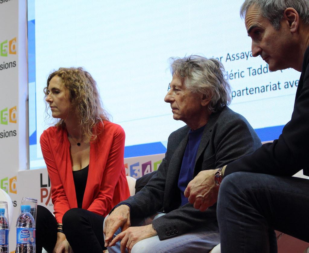 Frédéric Taddeï, Delphine de Vigan, Roman Polanski et Olivier Assayas - Livre Paris 2017