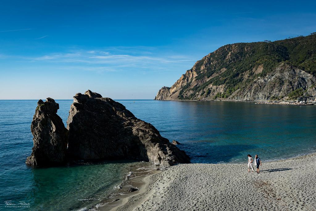 La plage de Monterosso