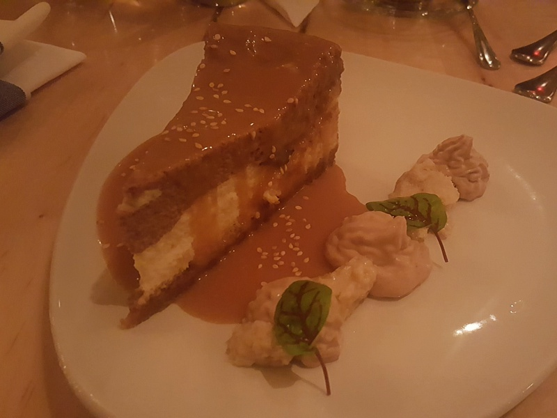 Elm Tree Cafe cheesecake