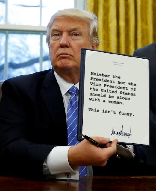 Trump_bealonewithwoman