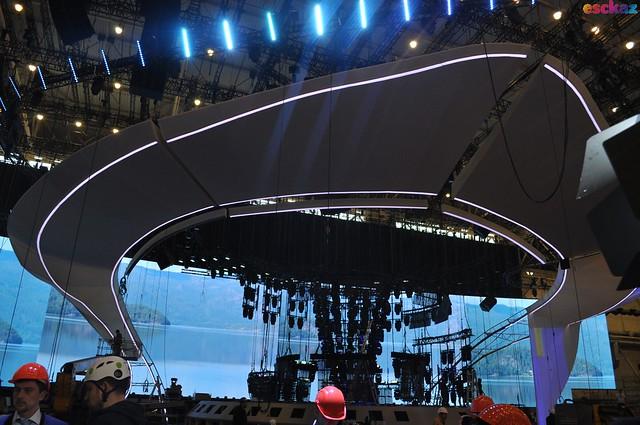 Eurovision 2017 Stage Press tour 11 April